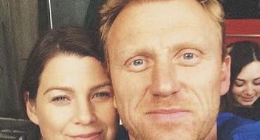 """""""Grey's Anatomy"""": Kevin McKidd - Owen Hunt - Ellen Pompeo - Meredith Grey"""