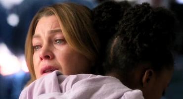 """""""Grey's Anatomy"""": Meredith Grey (Ellen Pompeo) und Zola"""