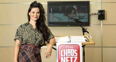 "Anna Fischer bei ""Chaos im Netz"""