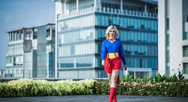 Das einzig wahre Supergirl Kostüm