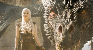 Game of Thrones - Daenerys Targaryen und ihr Drache Drogon