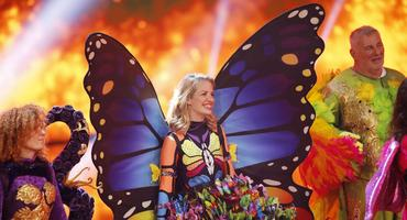 the Masked Singer - Schmetterling