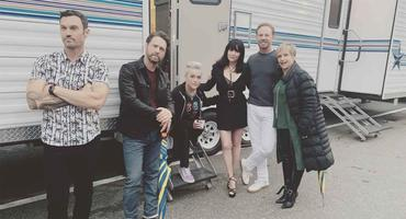"Reunion am Set vom ""Beverly Hills 90210"""