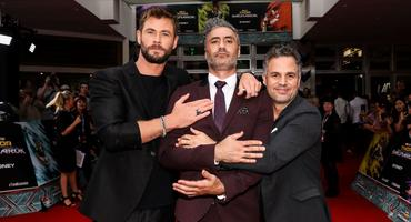 Thor Chris Hemsworth Marc Ruffalo Taika Waititi