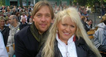 Sabrina Lange und ihr Freund Thomas Graf von Luxemburg