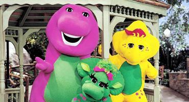 """Der lila Dino aus """"Barney und seine Freunde"""" ist heute ein Tantra-Guru!"""