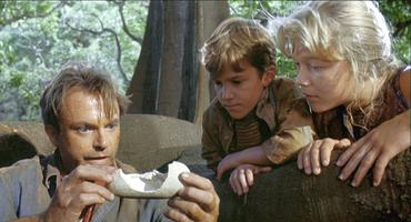 """""""Jurassic Park""""-Kinder Lex und Tim"""