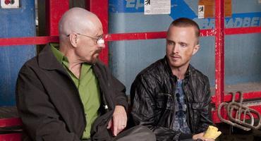 """""""Breaking Bad"""": Jesse Pinkman und Walter White bzw Aaron Paul und Bryan Cranston"""