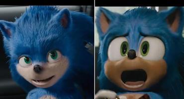 Sonic the Hedgehog: alter vs. neuer Look