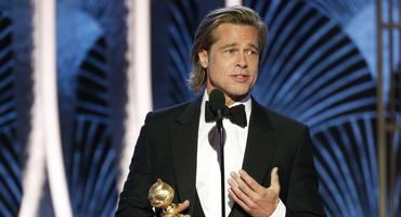 """Brad Pitt bei den """"Golden Globes 2020"""""""