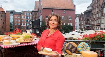 Claudia Schmutzler von Rote Rosen in Lüneburg
