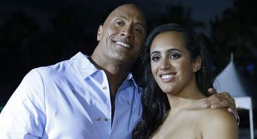 Dwayne The Rock Johnson und Simone Johnson