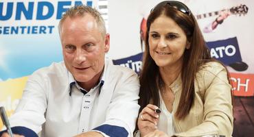Die Trovatos: Jürgen und Marta Trovato