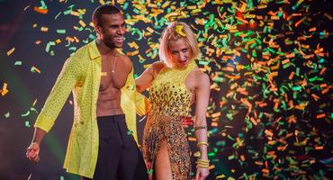 Let's Dance: Tijan Njie und Kathrin Menzinger