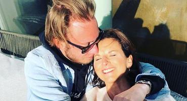 Claudia Obert und Freund Nils