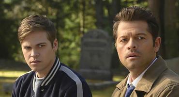 Supernatural: Jack & Castiel