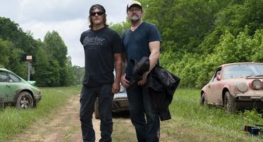 The Walking Dead Norman Reedus Michael Rooker