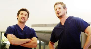 Heiße Grey's Anatomy-Reunion: Derek Shepherd (Patrick Dempsey) und Marc Sloan (Eric Dane)