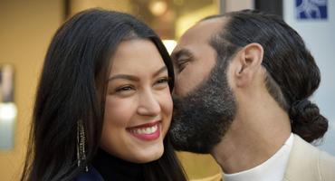 Massimo Sinató über sein Baby Rebecca Mir