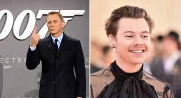 Harry Styles James Bond Daniel Craig