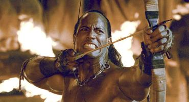Scorpion King mit Dwayne The Rock Johnson
