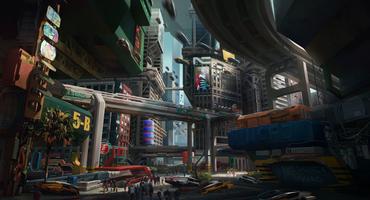 Cyberpunk 2077 Watson Little China Art-Design