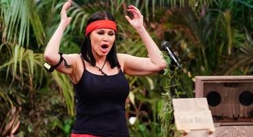 Djamila Rowe in der Dscungelshow