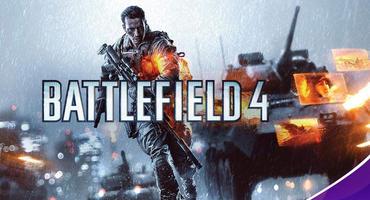 Battlefield 4 Artwork mit Amazon Prime Gaming Logo