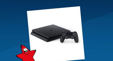 PlayStation 4 mit Controller