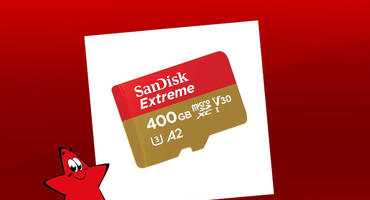 Sandisk Micro SD Karte 400 GB Speicher