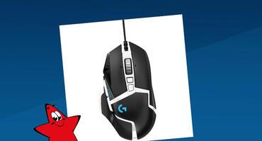 Logitech G502 HERO Gaming Maus