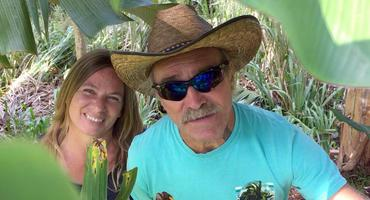 Manu und Konny Reimann auf Hawaii