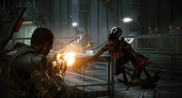 Aliens Fireteam Elite Fight