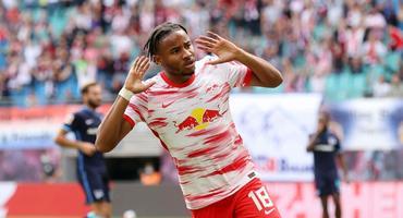 Christopher Nkunku spielt für den RB Leipzig.
