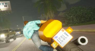 Motorrad-Raserei auf Autobahn in GTA Vice City