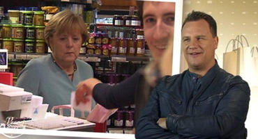 "Angela Merkel bei ""Promi Shopping Queen"""