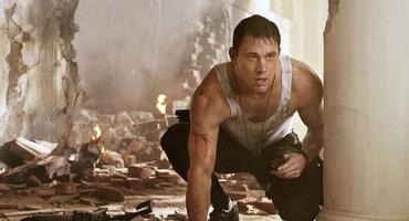 "Channing Tatum in ""White House Down"""