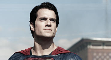 "So zeigte sich Henry Cavill in ""Man of Steel"" (2013)"