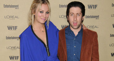 Kaley Cuoco-Sweeting und Simon Helberg