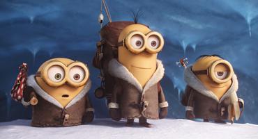 """Süßer als die Polizei erlaubt: Die """"Minions"""" in ihrem ersten eigenständigen Kinoausflug!"""