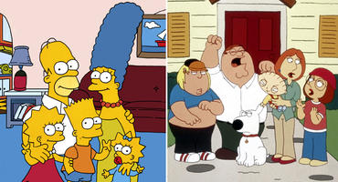 Simpsons und Family Guy Crossover