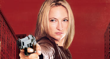 "Zoe Bell in ""Angel of Death"""