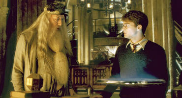 Professor Albus Dumbledore und Harry Potter