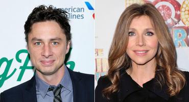 Sind Zach Braff und Sarah Chalke endlich ein Paar? Eine Twitter-Bild löste große Euphorie aus...