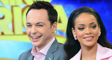 Jim Parsons, Rihanna, Big Bang Theory