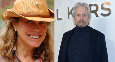 Nancy Pfister und Michael Douglas