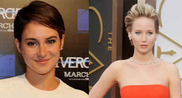 Shailene Woodley und Jennifer Lawrence