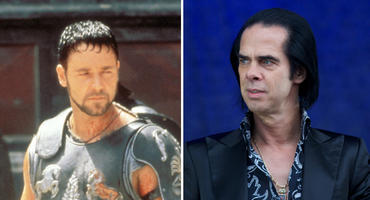 Russell Crowe in Gladiator und Nick Cave