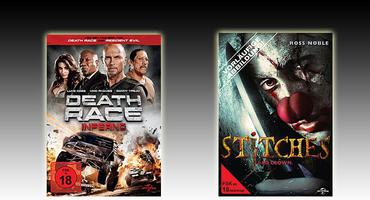 """Stitches"" und ""Death Race: Inferno"" auf DVD & Blu-ray"