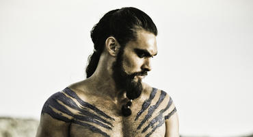 "Jason Momoa als Khal Drogo in der Fantasy-Serie ""Game of Thrones"""